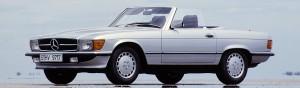 Mercedes-Benz SL uit de R 107 bouwserie
