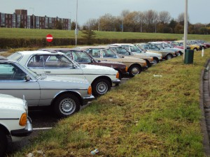 MB W123 Club NL Evenement