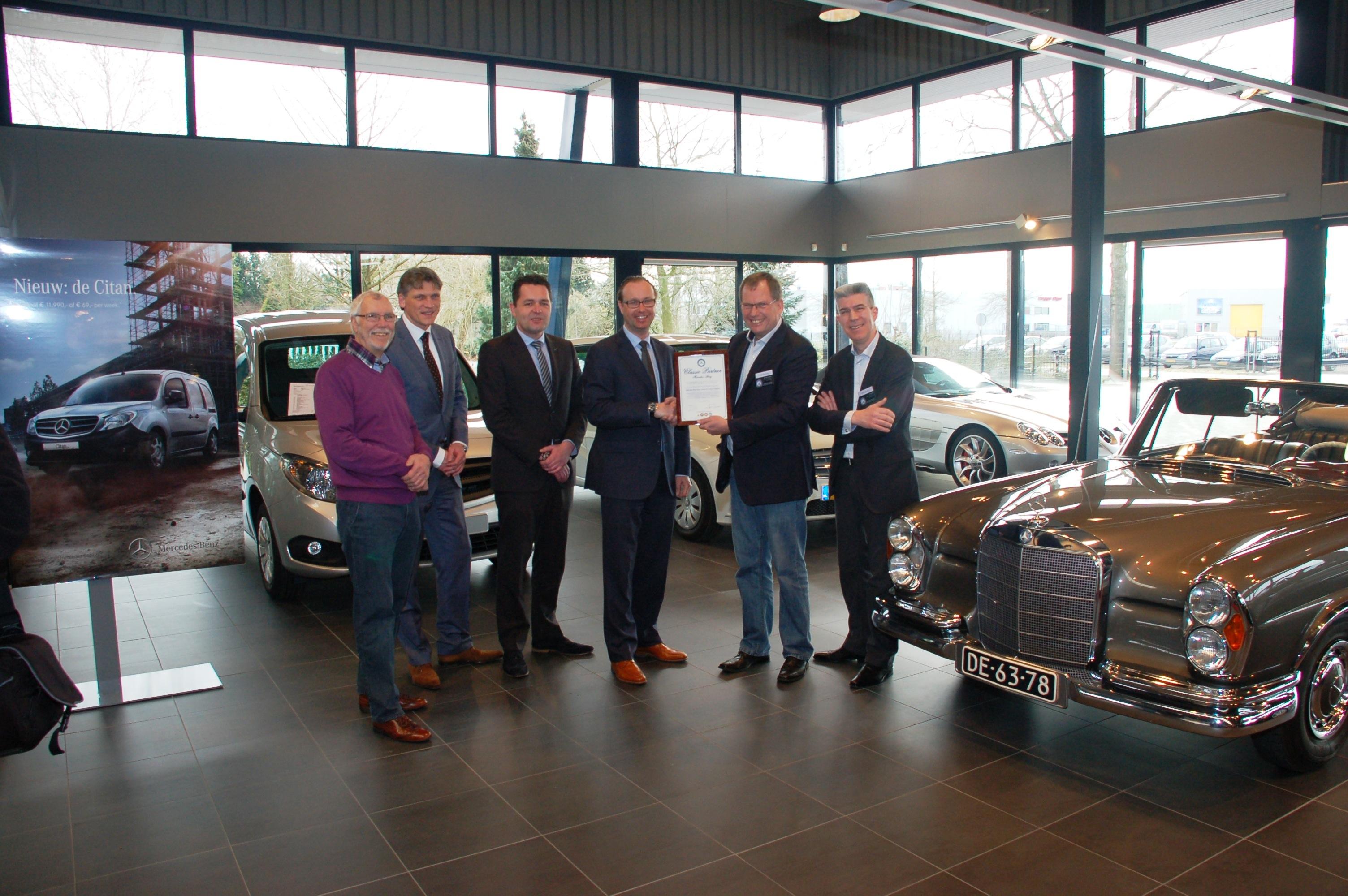 Baan Twente B.V. vestiging Rijssen uw Mercedes-Benz Classic Partner