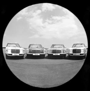 Diesel kwartet ; vier diesel W 115 modellen, de 200D, 220D, 240D and 240D 3.0