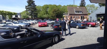 Mercedes-Benz R 129 SL treffen in Bergambacht