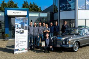 Cor Millenaar b.v. uw Mercedes-Benz 4x4 specialist en Classic Partner