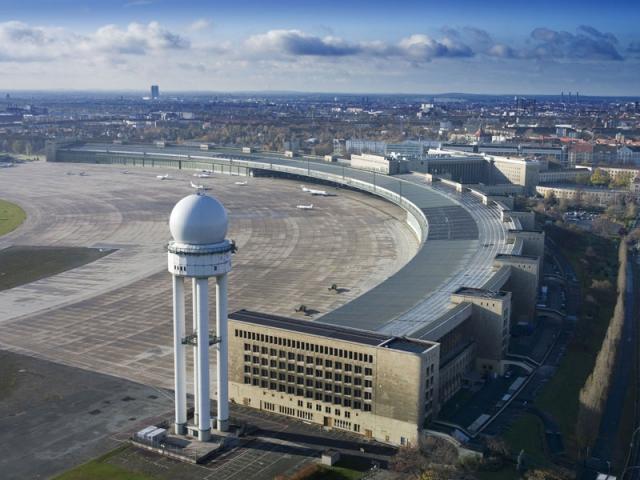 Vliegveld Tempelhof Berlijn